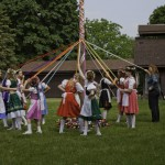 A traditional May Day celebration: the Maypole Photo: Starley2 / flickr