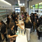 Guests sip DavidsTea in the new Russian Hill store    photo: courtesy Davidstea