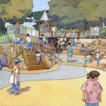 Renovations at Lafayette Park are supported by the 2008 parks bond   Illustration: courtesy Friends of Lafayette Park