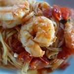 Seafood fra diavolo (in a spicy tomato sauce) works well with shrimp, lobster or crab