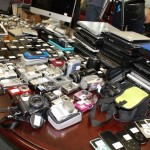 A portion of the recovered stolen property    photo: SFPD Central Station Investigative Team