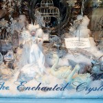 The award-winning winter window at The Enchanted Crystal