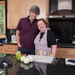 Mo Rocca with Ruth Teig   Photo: courtesy cooking channel