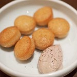 Duck liver mousse with almond biscuits at State Bird Provisions    photo: Susan Dyer Reynolds