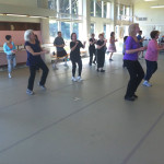 Boomercize class in action at the Presidio Performing Arts Center   PHOTO: Boomercise