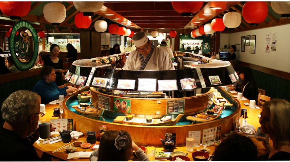 Sushi Boat Restaurant Japantown San Francisco