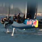 Teams are training for the Red Bull Youth America's Cup    Photo: Gilles Martin-Raget