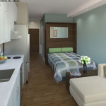 38 Harriet's micro-apartments get a lot into a small space PHOTO: Panoramic Insterests 2011