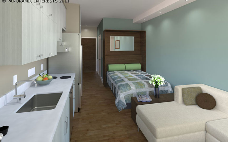 Micro Apartments Come To The City