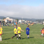 Spring soccer on the Marina Green