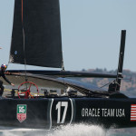 Ballet on the bay as Oracle Team USA practices    photo: © ACEA / PHOTO GILLES MARTIN-RAGET
