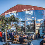 The outdoor patio at Southern Pacific Brewing is perfect for warm summer afternoons     Photo: courtesy of Southern Pacific Brewing
