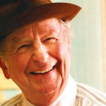 Herb Caen in his Chronicle office in the early 1990s   (Photo: nancy wong / wikimedia commons)