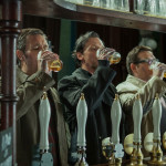 Left to right: Martin Freeman as Oliver, Paddy Considine as Steven, Simon Pegg as Gary, Nick Frost as Andy, and Eddie Marsan as Peter in Edgar Wright's The World's End   Photo: Laurie Sparham/Focus Features