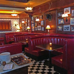 Palmer's interior has a cozy, clubby ambiance     photo: julie mitchell