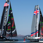 The America's Cup rode waves of hopes and criticism throughout the year in San Francisco     photo: courtesy 2012 Guilain Grenier/Oracle Team USA