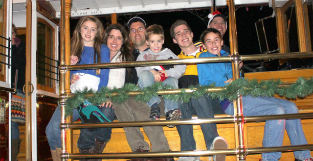 27th Annual Cable Car Caroling