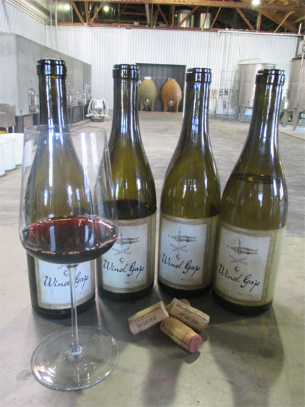 The Barlow is home to Wind Gap wines, Photo credits: Bo Links