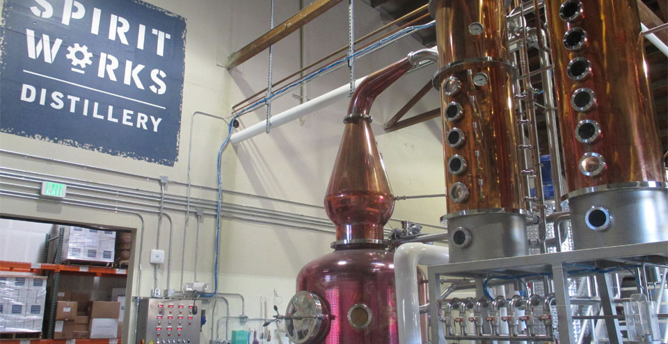 Watch the workings of the still at Spirit Works, Photo Credits: Bo Links