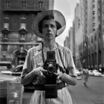 See a snapshot of the artist in Finding Vivian Maier, photo:  © the maloof collection, ltd.