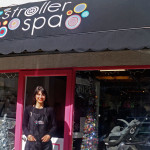 A spa for your stroller? Jamie Mamikunian's dining-room idea is now a flourishing local business