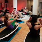 Locals get a Surfset high-energy group workout at the new Sweat Republic