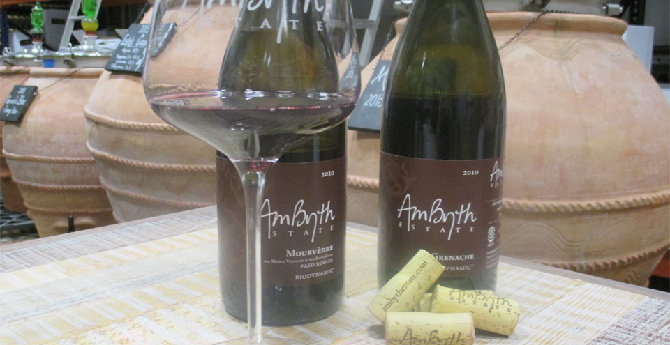 Try AmByth's biodynamic wines