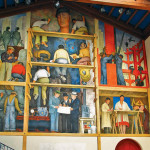 The Making of a Fresco Showing the Building of a City, one of many murals painted by Diego Rivera in San Francisco, photo: Geigenot / flickr