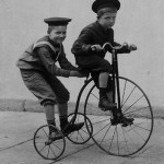 Biking hasn't really changed all that much from the olden days     (photo:  jhayne / flickr)