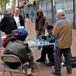 When San Francisco police shut down street chess games, critics complained that the city was cleaning up its image to appeal to the newest generation of wealthier, whiter residents    (photo: Yair Haklai)