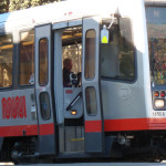 Muni's aging and overcrowded fleet of buses, trolleys, and trains are sorely in need of investment    photo: Zboralski