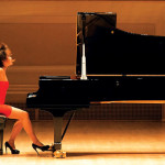 Superstar pianist Yuja Wang performs at the San Francisco Symphony's Opening Night Gala.     photo: san francisco symphony