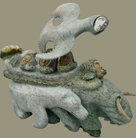 Jonas Faber: Inuit sculpture
