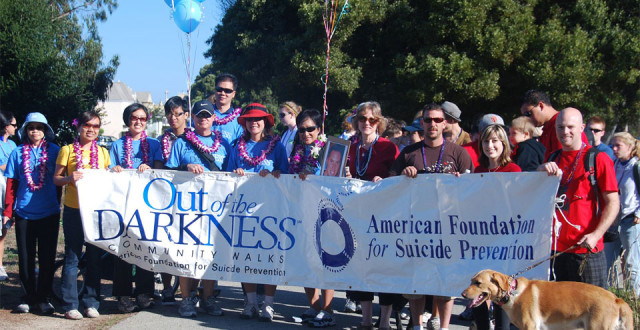 11th Annual S.F.  Out of the Darkness Community Walk