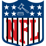 Potential new NFL logo.    image: courtesy of korkedbats.com