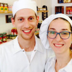Italian-born newlyweds Mattia Cosni and Alice Romagnoli cook up family recipes at The Italian Homemade Company in North Beach.