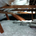 Insulating your attic is a cost-effective way to reduce winter's toll on your heating bills.     photo: jason dale