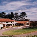 The beautiful Golden Gate Club in the Presidio.