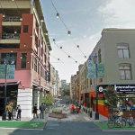Conceptual renderings of Polk street postrenovation. photos: san francisco planning department