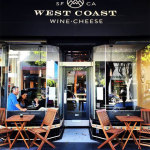 West Coast Wine & Cheese features a varied and constantly evolving menu, currently featuring Roasted Pork Belly with Red Curry and Lime and Seared Foie Gras with PX Sherry, Black Cherry Conserva, Parker House Rolls.    photos: courtesy West coast wine & cheese