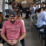 Leap hopes to attract city commuters looking for a better ride to work.     photo: leap