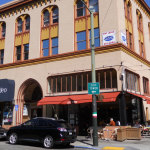 North Beach might lack the destination retail of other major commercial centers in the city, but it's not without action, with the Dante Building at 1606 Stockton Street getting a new wine bar-restaurant.     photos: Blatteis Realty Co., Inc.