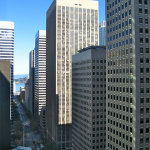 Office space in San Francisco's Financial District is hard to come by these days..      Photo: eric hunt