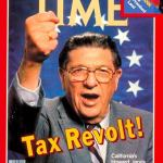 Proposition 13 booster Howard Jarvis became the face of the national tax revolt in 1978.