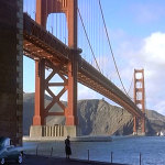 Alfred Hitchcock's classic Vertigo was filmed in San Francisco.    photo: © paramount productions