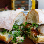 The killer porchetta at B. on the Go.    photo: © tablehopper.com