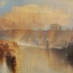 Joseph Mallord William Turner, Ancient Rome; Agrippina Landing with the Ashes of Germanicus, exhibited 1839, oil paint on canvas, Tate Britain, accepted by the nation as part of the Turner Bequest 1856.    image: © Tate, London 2015