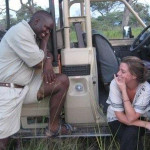 Kate Steinle on a trip to Zambia several years ago.     photo: Courtesy Kate Steinle's Facebook page