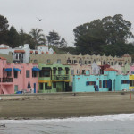 Capitola's cove of colorful houses  (photo: Bo Links)