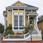 Lovers of Victorians appreciate the period detailing on both the interior and the exterior of the homes. Photo: BRUCE FINGERHOOD; wikimedia commons